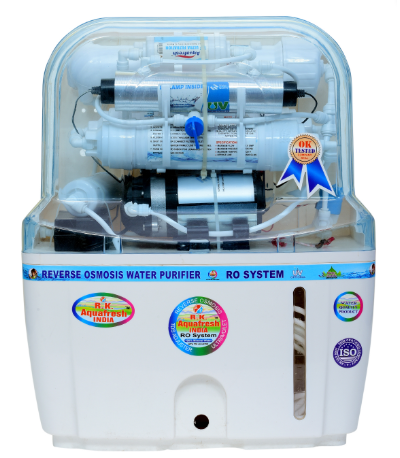Aqua Grand Plus water filter comes with a unique design that shows off Mineral RO technology and inbuilt TDS controller