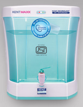 This filter uses double purification technology with a transparent detachable storage tank.